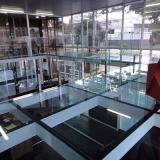 piso de vidro para residência