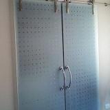 porta de vidro para banheiro Jardim Samambaia