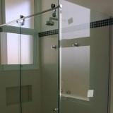 preço de box de vidro de correr para banheiro Jardim das Andorinhas