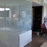 preço de box de vidro jateado para banheiro Jardim Itaiú
