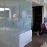 preço de box de vidro jateado para banheiro Vila Orozimbo Maia