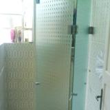 preço de box de vidro para banheiro com porta de abrir Jardim do Vovô