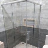 preço de box de vidro temperado para banheiro Holambra