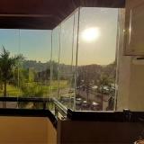 preço de fechamento de sacada com vidro de correr Engenheiro Coelho