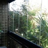 preço de fechamento de sacada com vidro Jardim Campo Belo I