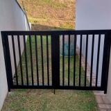 quanto custa esquadrias de alumínio portões Parque Santa Bárbara