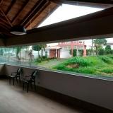 sacada com fechamento de vidro orçar Vila Miguel Vicente Cury