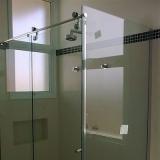 valor de box de vidro incolor para banheiro Jardim São Domingos