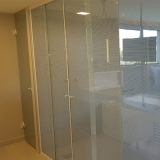 valor de box de vidro jateado para banheiro Jardim Aurélia
