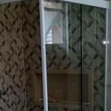valor de box para banheiro sanfonado de vidro Limeira