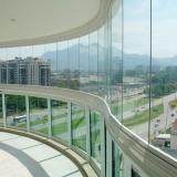valor de fechamento de sacada em vidro São Bernardo