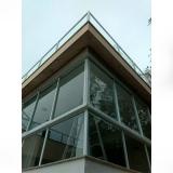 valor de janela grande de vidro Jardim São Gabriel