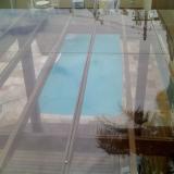venda de cobertura de pergolado com vidro Jardim Miranda