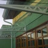 venda de cobertura de vidro para área externa Vila Rica