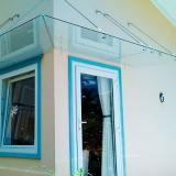 venda de cobertura de vidro para porta de entrada Jardim São José