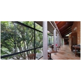vidraçaria de vidros temperados endereço Parque Oziel