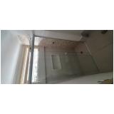 vidraçaria de vidros temperados orçamentos Vila Pompéia